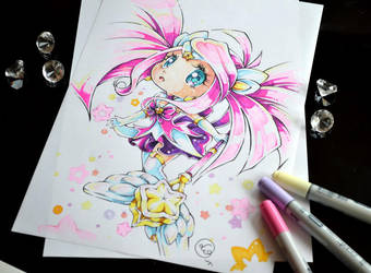 Chibi Star Guardian Lux by Lighane