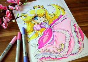 Princess Peach by Lighane