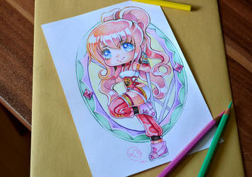 Chibi Serah Tattoo by Lighane