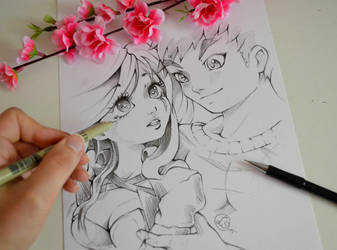 Katarina and Garen by Lighane
