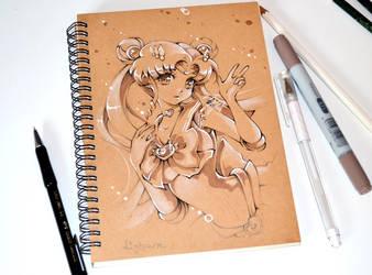 Sketchbook Sailor Moon by Lighane