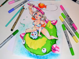 Pool Party Sejuani by Lighane