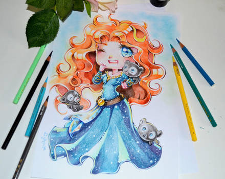 Chibi Merida by Lighane