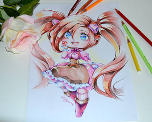 Chibi OC Commission by Lighane