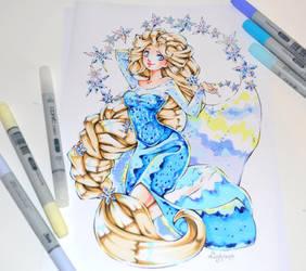 Elsa Tattoo by Lighane