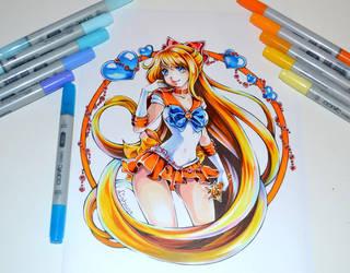 Sailor Venus Tattoo by Lighane