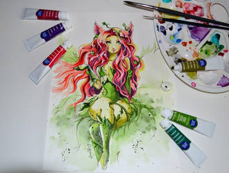 Poison Ahri by Lighane