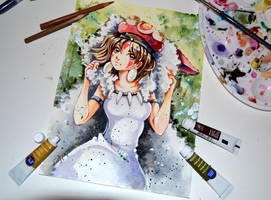 Princess Mononoke by Lighane