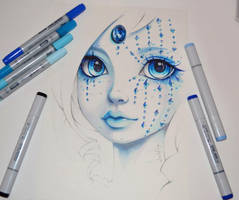 Lady Sapphire by Lighane