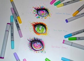 Candy Eyes by Lighane