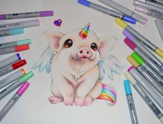 I'm a Pigasus! by Lighane