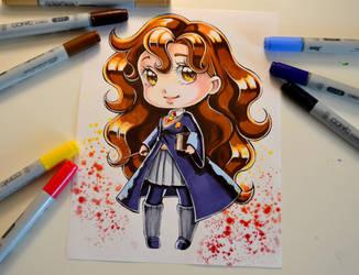 Chibi Hermione by Lighane