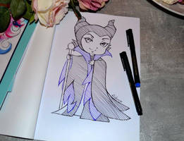 Maleficent by Lighane