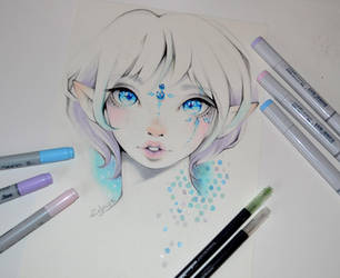 Jade - the Snow Elf by Lighane