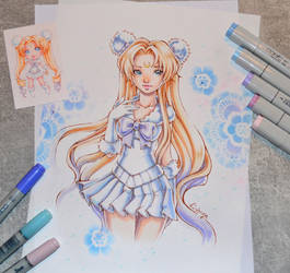 Winter Wonder Sailor Moon #2 by Lighane