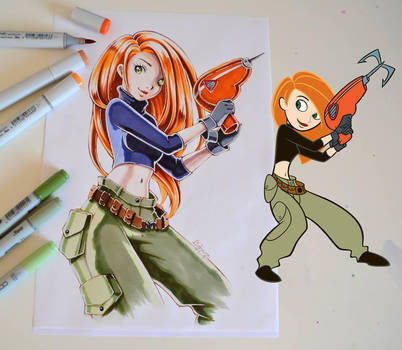 Kim Possible by Lighane