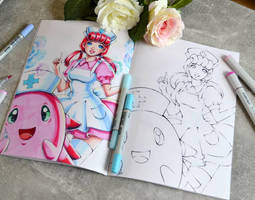 Preorder Your Coloring Book! by Lighane