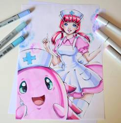 Nurse Joy by Lighane