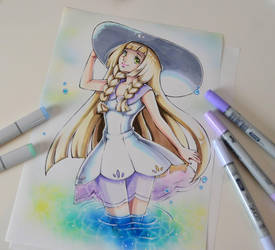 Lillie From Pokemon by Lighane
