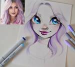 Violet by Lighane