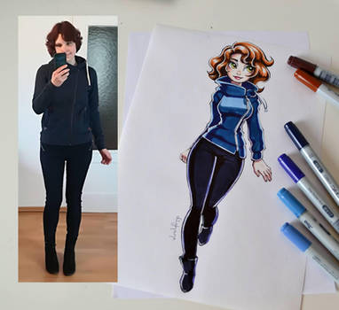 Autumn Outfit-Of-The-Day! by Lighane