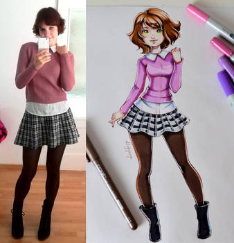 Autumn Outfit-Of-The-Day ... again! by Lighane