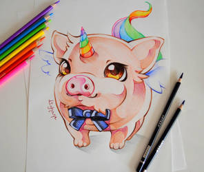 Debonair Pigasus by Lighane