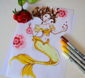 Mermaid Belle by Lighane