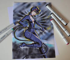 Catwoman by Lighane