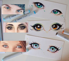 Your Beautiful Eyes Part 1 by Lighane