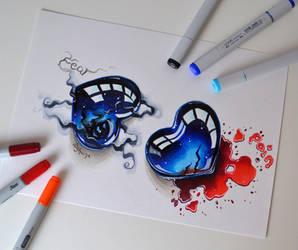 Fear vs Pain by Lighane