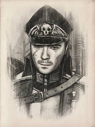 Commissar Jack (Warhammer 40000) by Rokatinsky