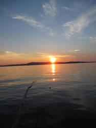 Summer Sun Setting by Trixita