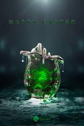 Alien Easter Logo by Pr3t3nd3r