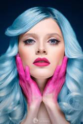 Blue Doll by Pr3t3nd3r