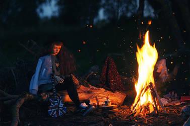 autumn fire by AzureFantoccini