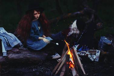 autumn fire II by AzureFantoccini