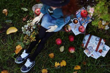 Eva with apples II by AzureFantoccini