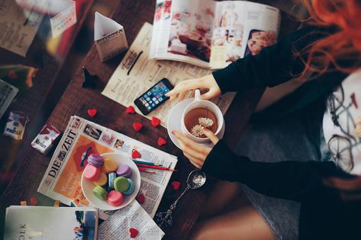 Cafe IV by AzureFantoccini