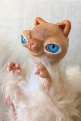 Tiny Cat Richard by Ermellin