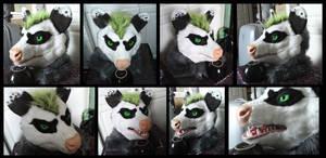 Neonpossum Head by CuriousCreatures