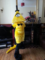 Bill Cipher - Fuzzy Monster Edition by CuriousCreatures