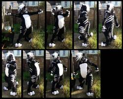 Kivuli Tiger Fursuit by CuriousCreatures
