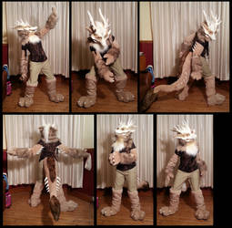 Fawkes - Drox Fursuit by CuriousCreatures