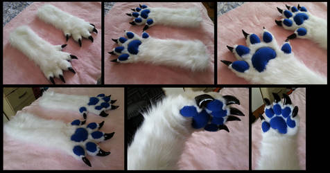 Red Baron Handpaws by CuriousCreatures