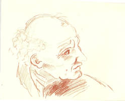 Donato Bramante Sketch by Mya90