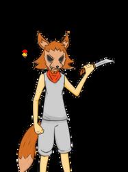The Strange Masked Fox Man by BRUHMYNAMEISDYLAN