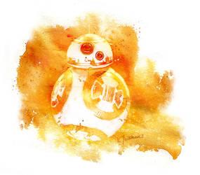 BB-8 by katarzynajaskiewicz