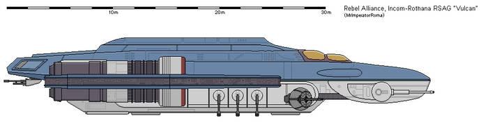 [Star Wars] Rapid Strike Assault Gunship (RSAG) by MrImperatorRoma