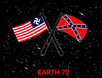 Earth 72: cross flags by feelynn38